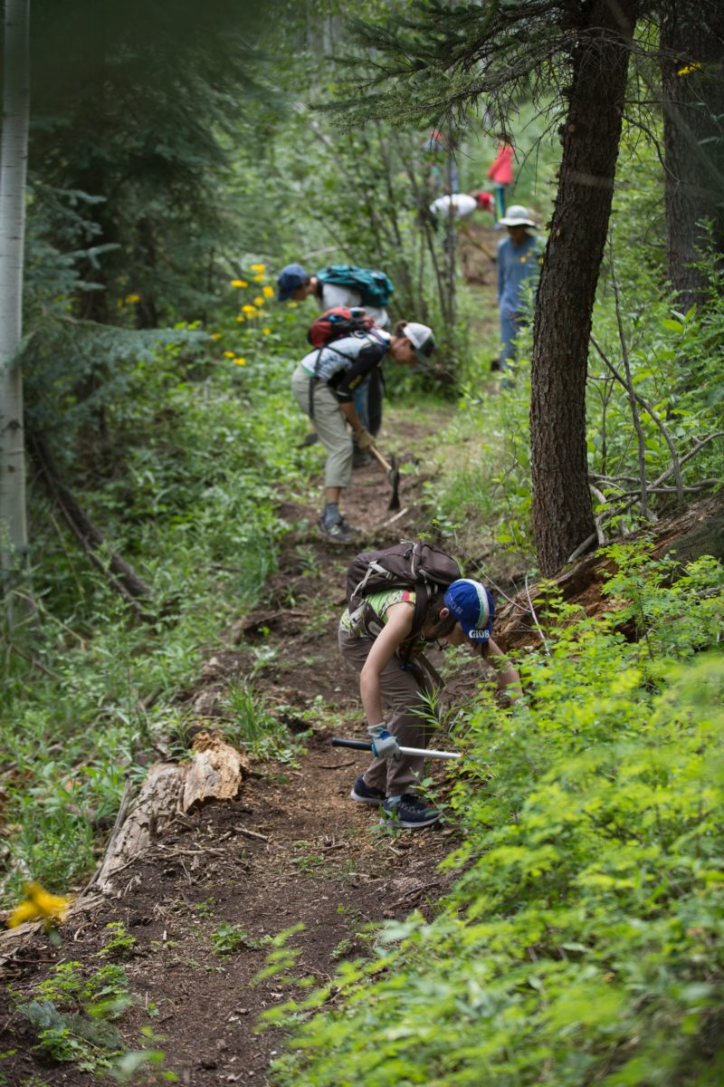 Trails 2000 at work in Durango, CO. Photo courtesy of Scott DW Smith.