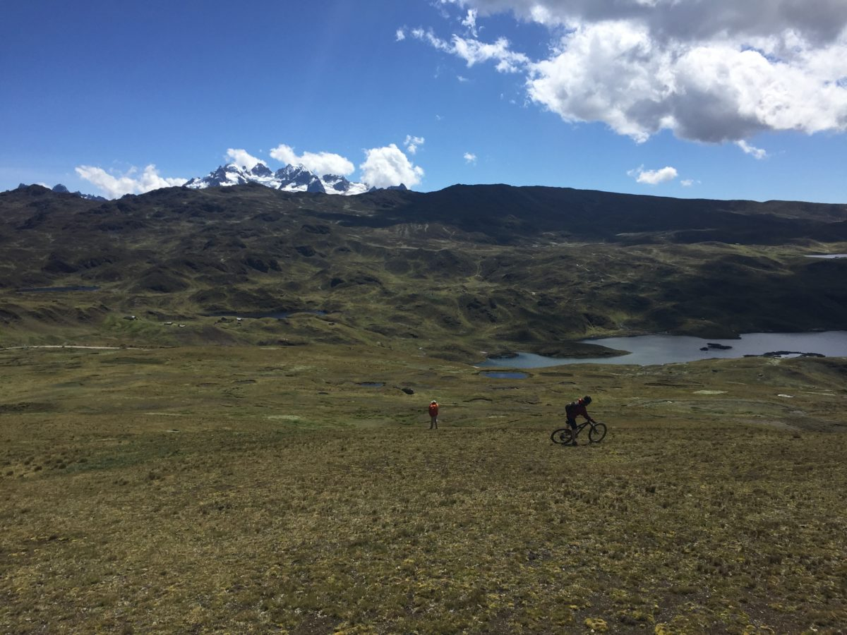 On our way to Lares, we met a guy out for a little 6-hour walk to the nearest town