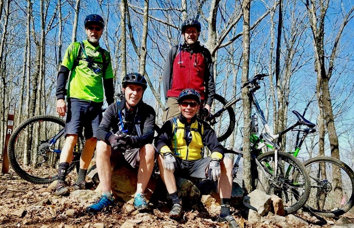 Old timers on a break at Coldwater Mountain, AL. Photo: Chris Callahan
