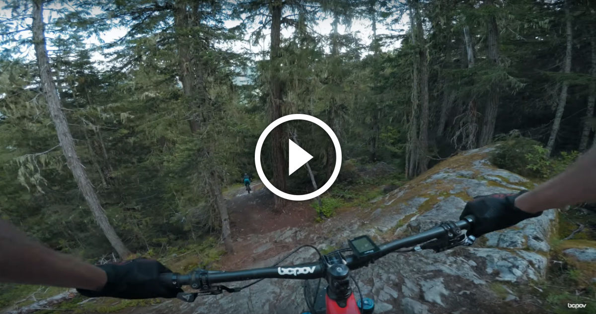 "Watch: Double Black Gnar – Mountain Biking ""Cheap Thrills"" in Whistler, BC"