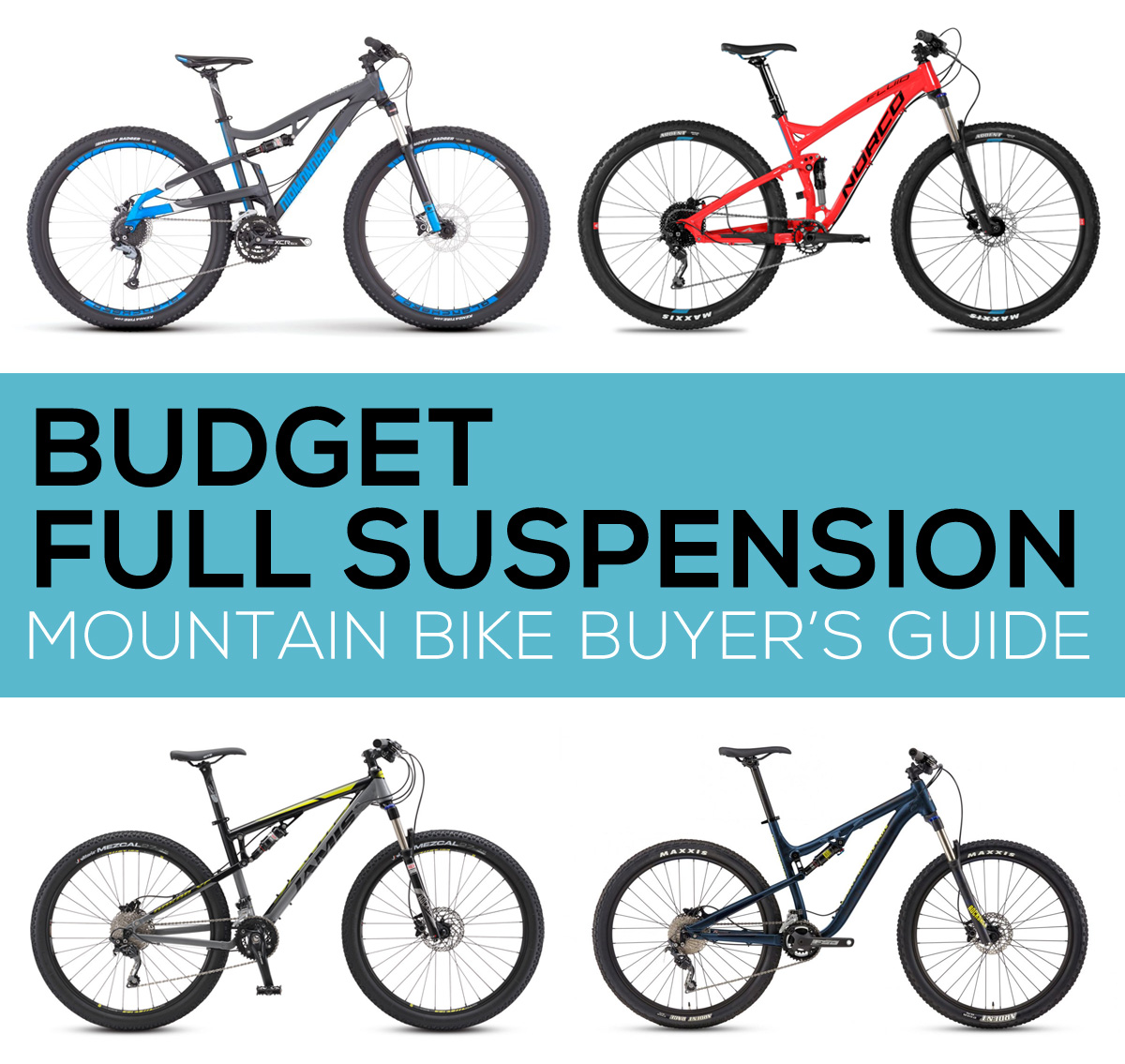 Budget Full Suspension Mountain Bike Buyers Guide