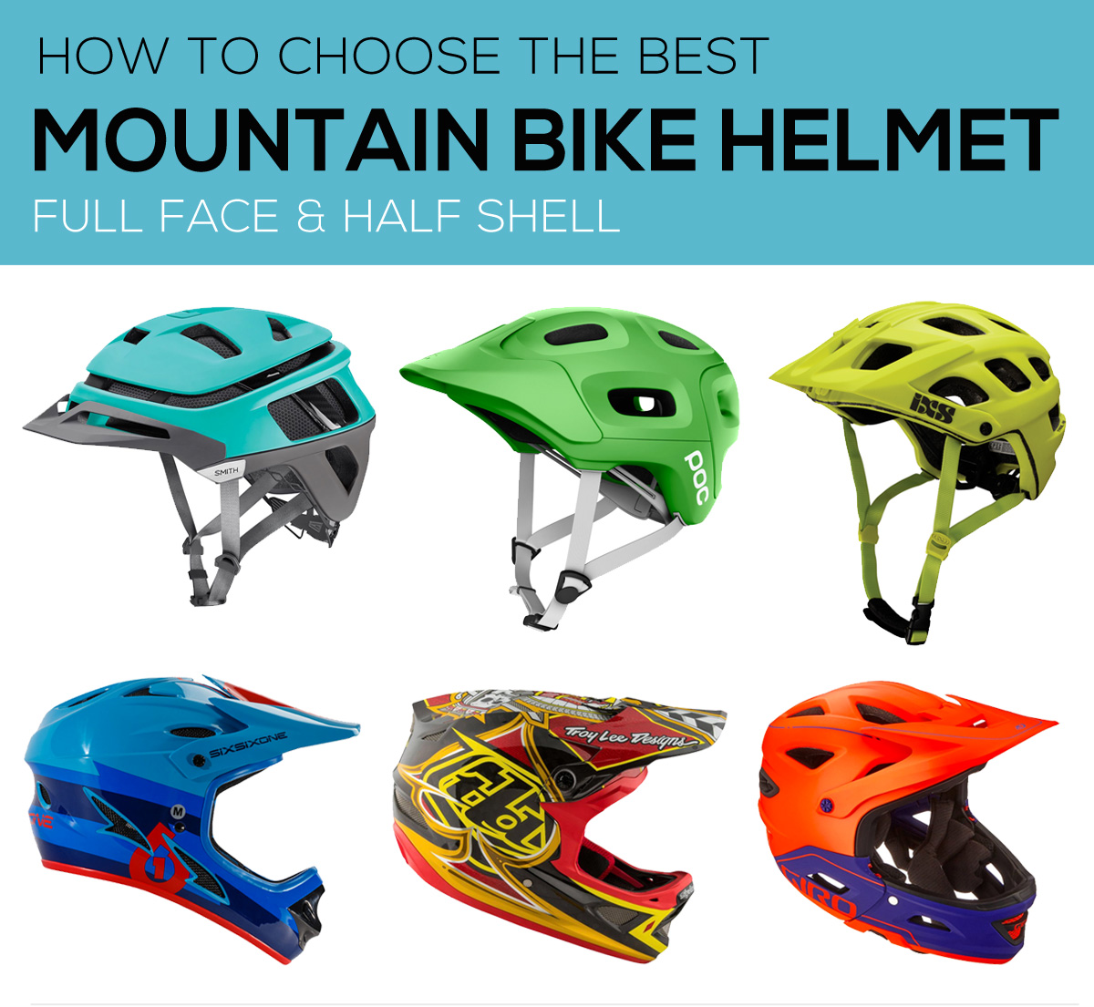 How to choose the best mountain bike helmet