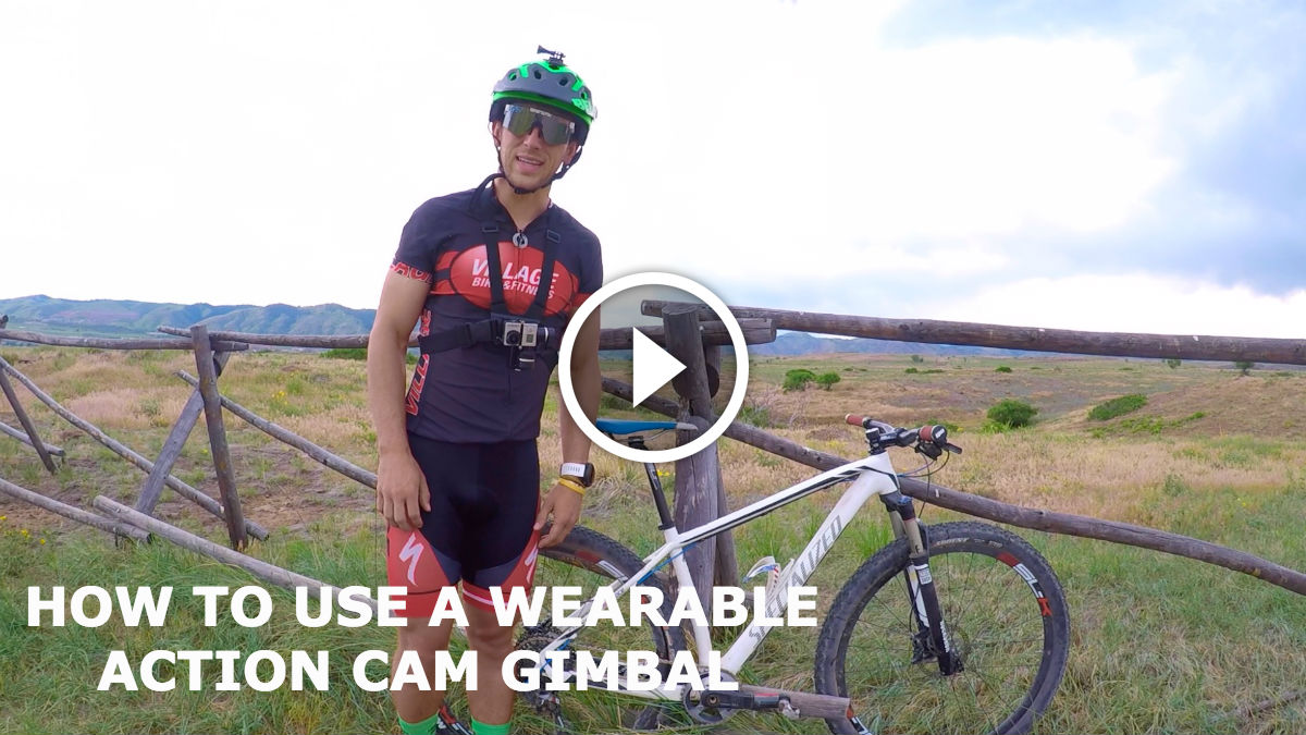 How To Use a Wearable Action Cam Gimbal