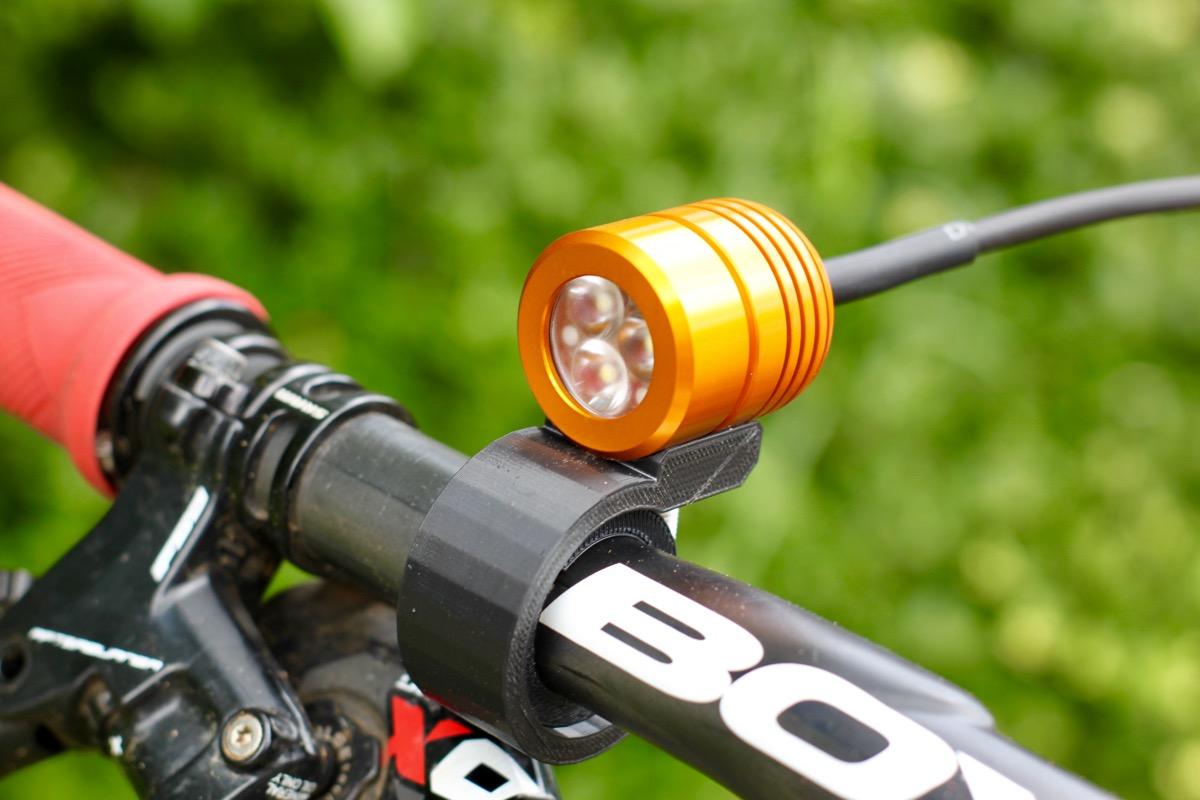 kLite Bikepacker PRO Bike Light Blasts 1200 Lumens, Has Infinite Battery Life - Singletracks Mountain Bike News