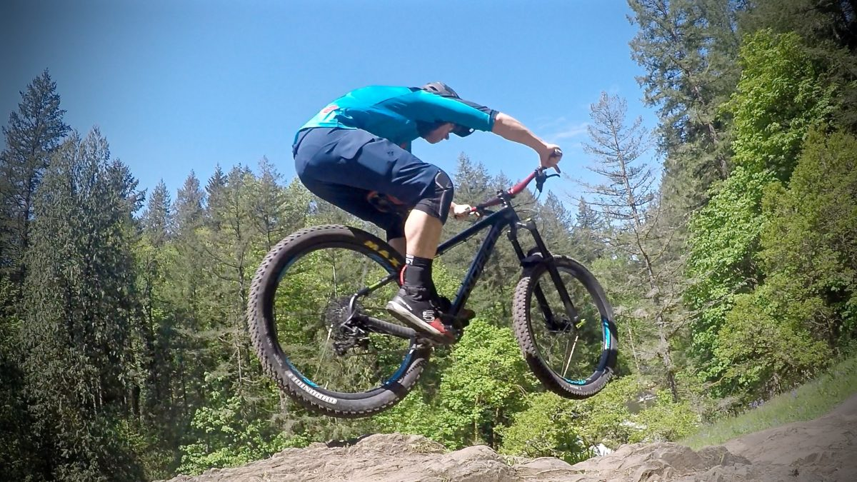 Mountain Bike Skills learn how to do jumps