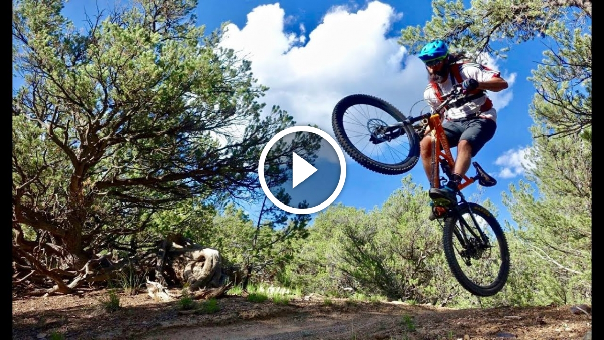 Watch: There Will Be Blood   Shredding the Cottonwood Trail in Salida, Colorado - Singletracks Mountain Bike News