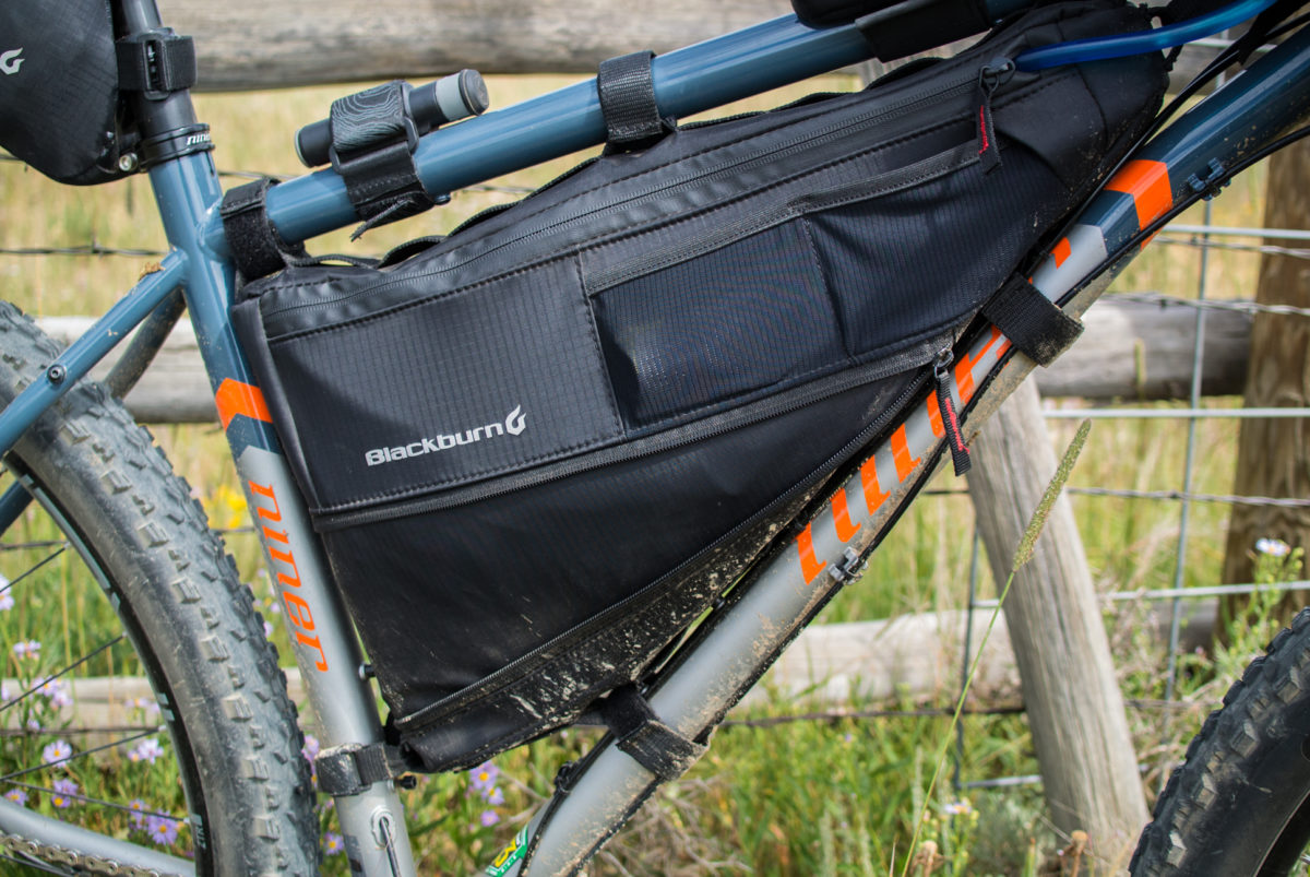 Blackburn Outpost Bikepacking Bags Review Singletracks