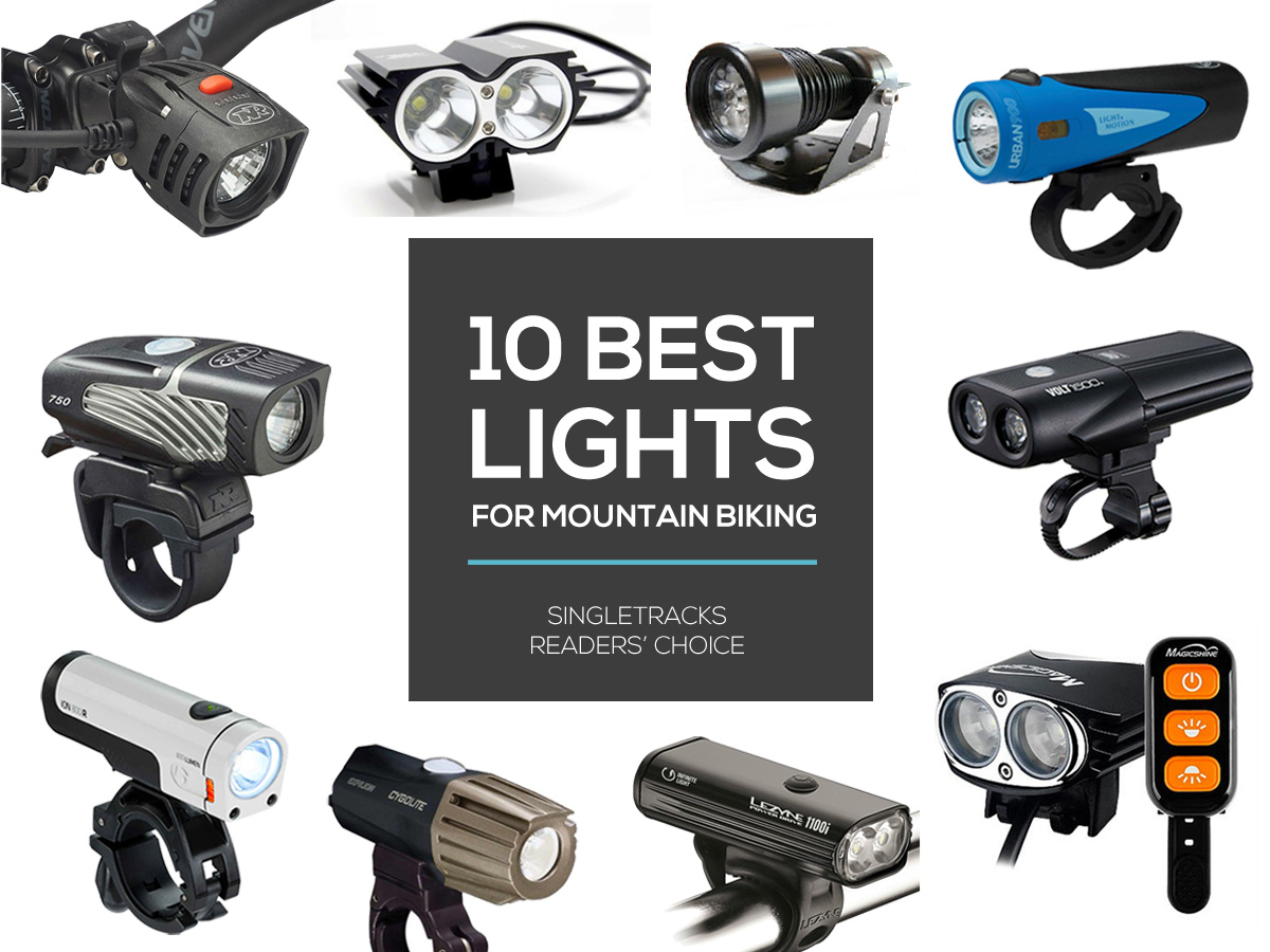 Readers Choice 10 Best Lights For Mountain Biking At