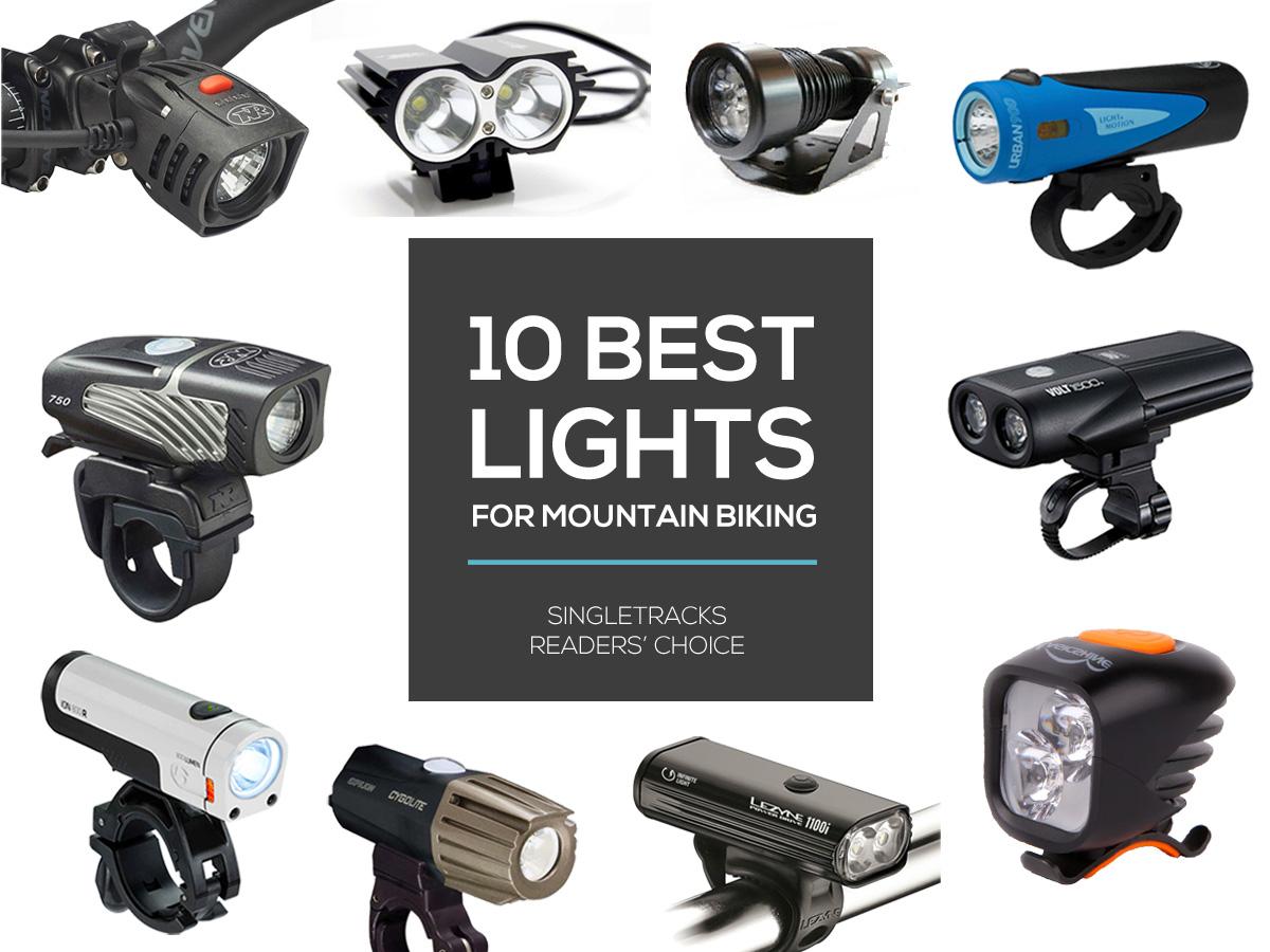 10 Best Lights for Mountain Biking