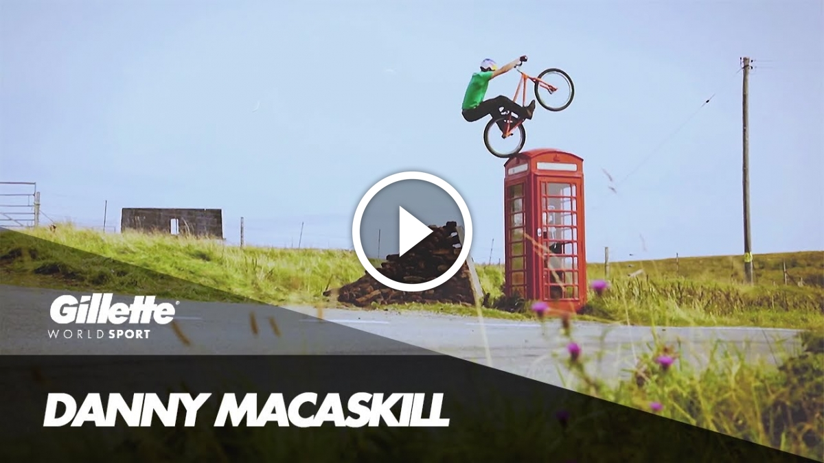 Watch: The Rise and Rise of Danny MacAskill, Including Early Footage of the Legend in Action