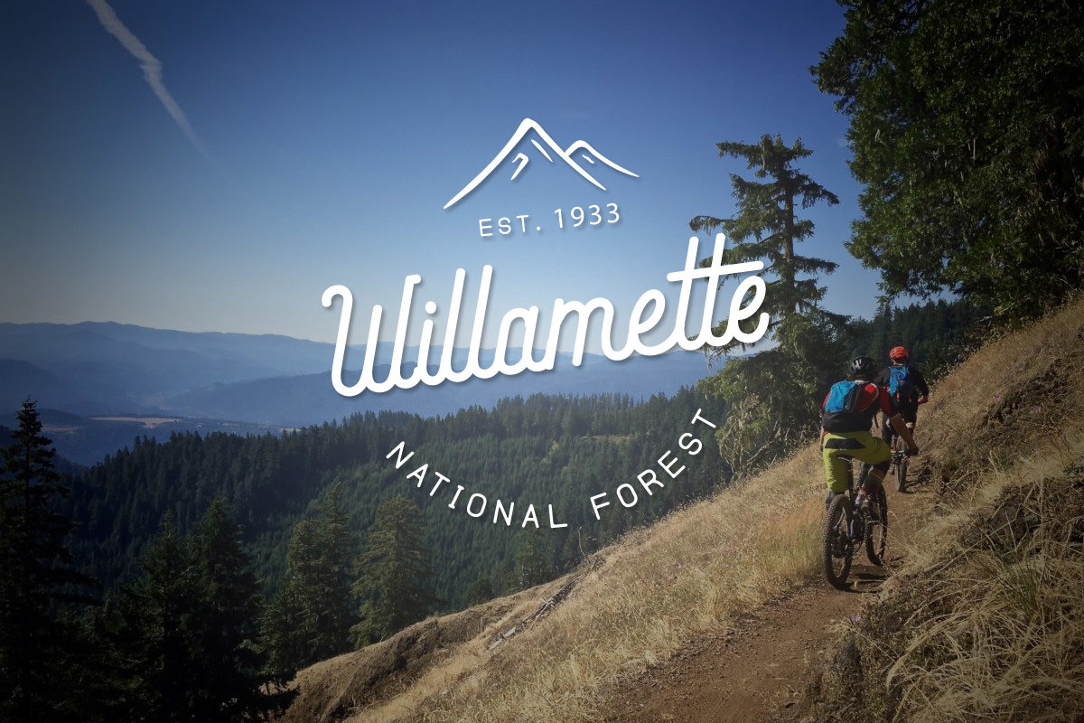 Willamette National Forest mountain biking trails