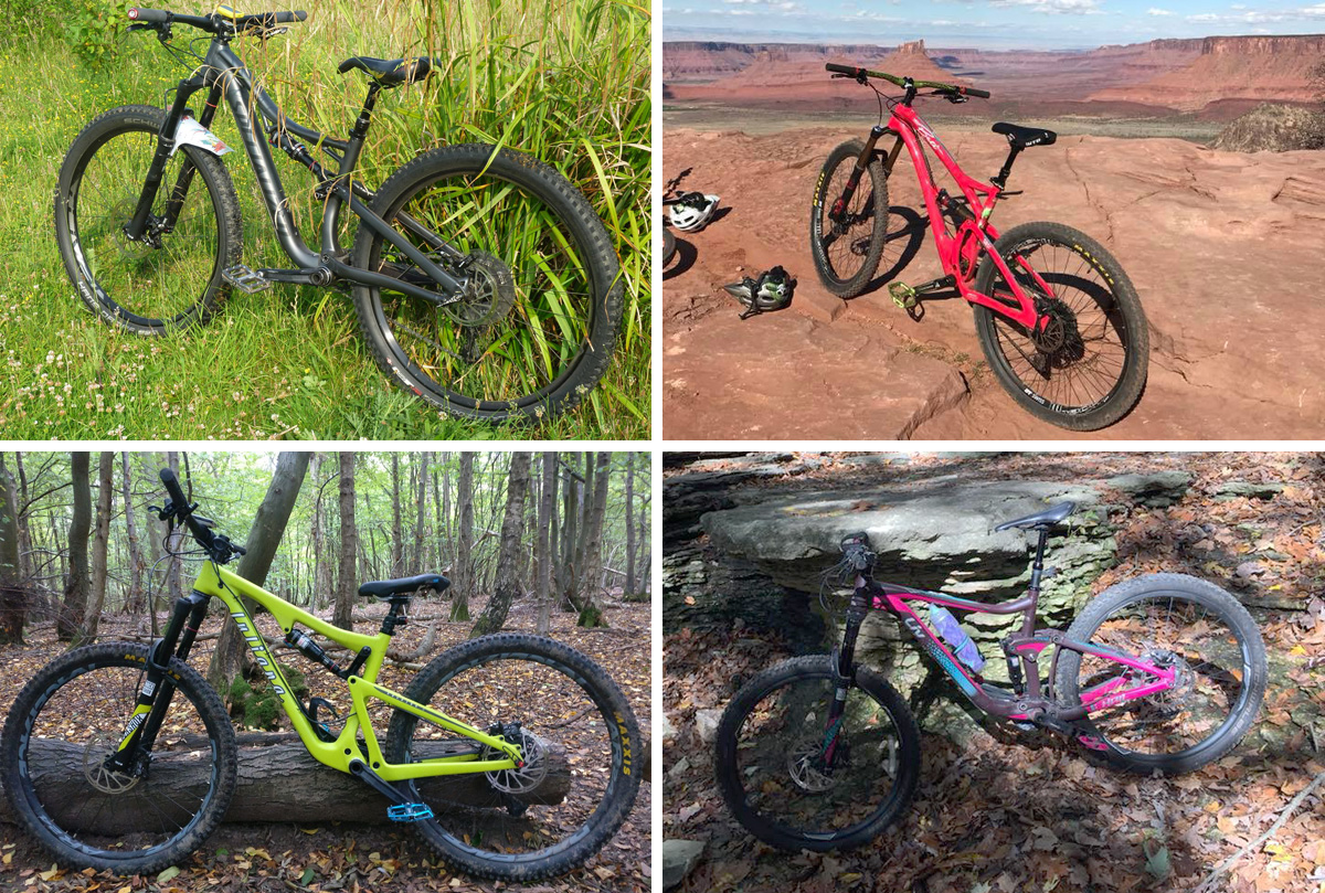 Womens Mountain Bikes - Specialized Yeti Beti Juliana Liv
