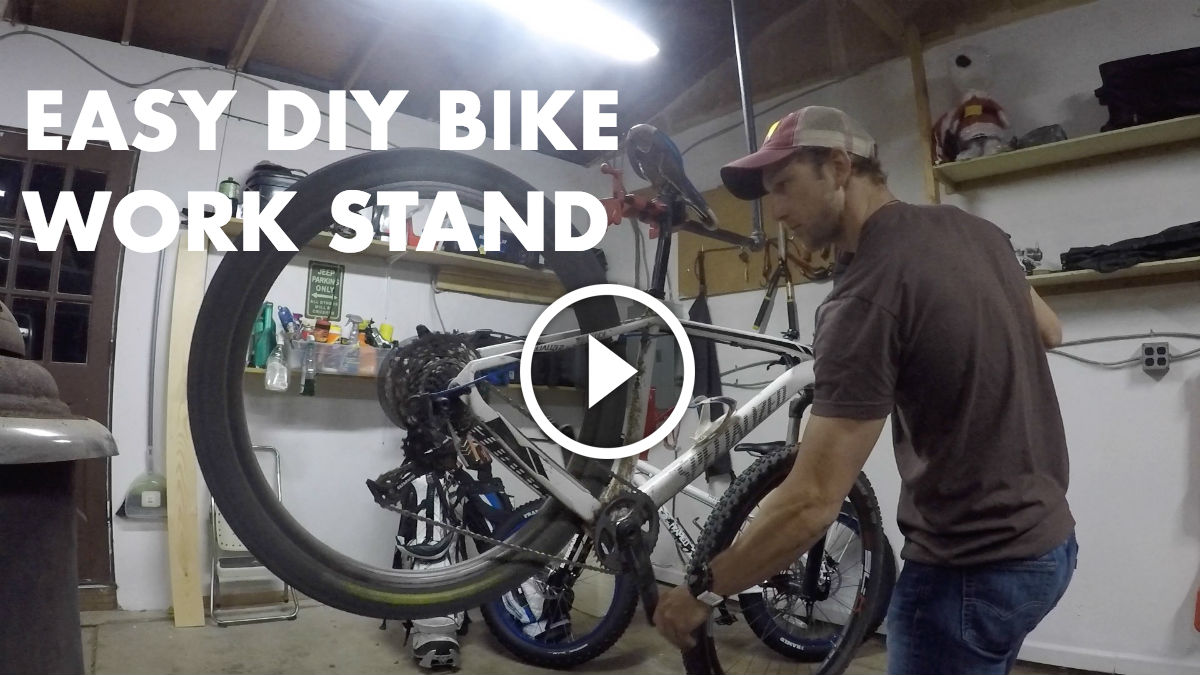 Watch How To Build Your Own Bike Work Stand In Just 30