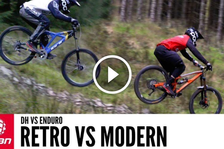 Watch Can A Modern Enduro Bike Beat Retro Downhill