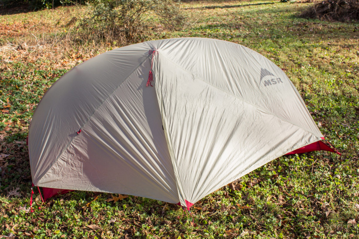 Ultralight Bikepacking Tent MSR FreeLite 1 Review