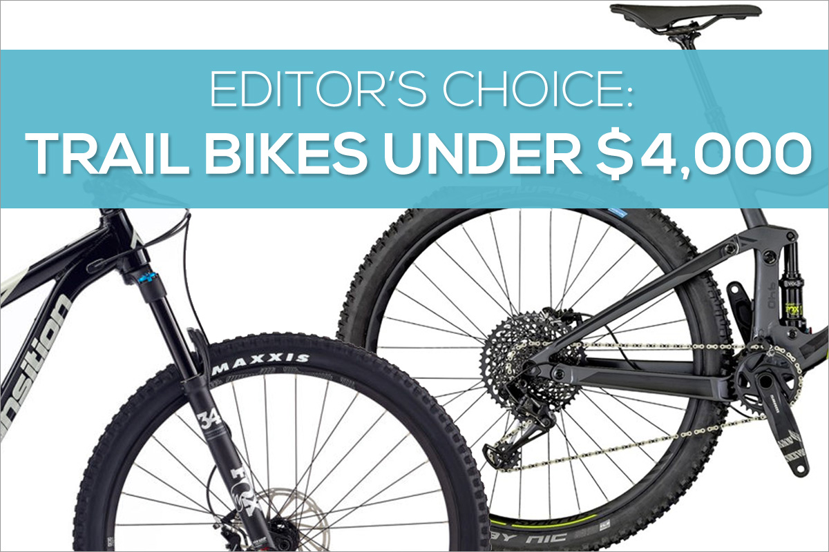 Editors Choice Favorite Trail Bikes for Mountain Biking
