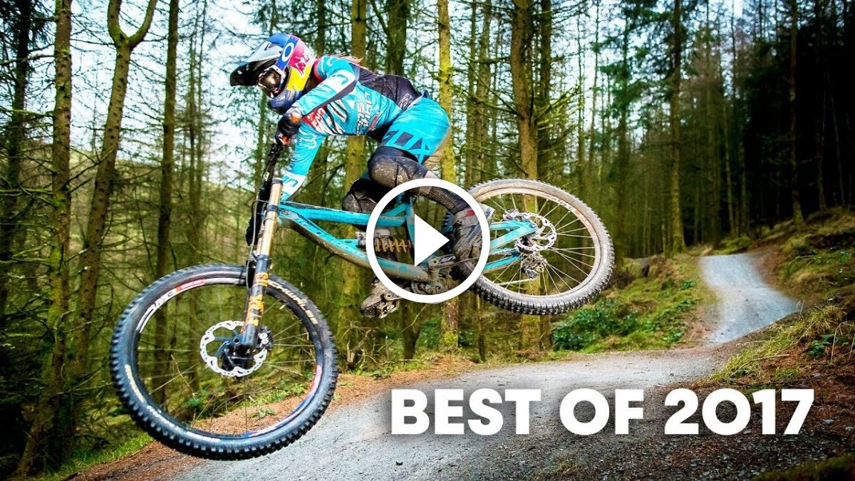 c8c4f18f5 ... a year of UCI MTB World Cup racing and outlines why you simply can t  beat getting rowdy on a DH bike. Watch the wildest downhill racing clips of  2017.