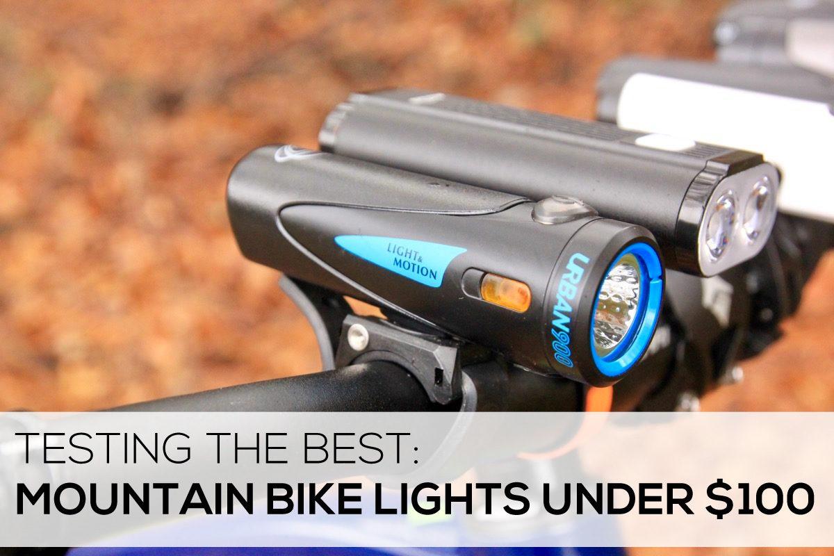 Testing Mountain Bike Lights Under $100