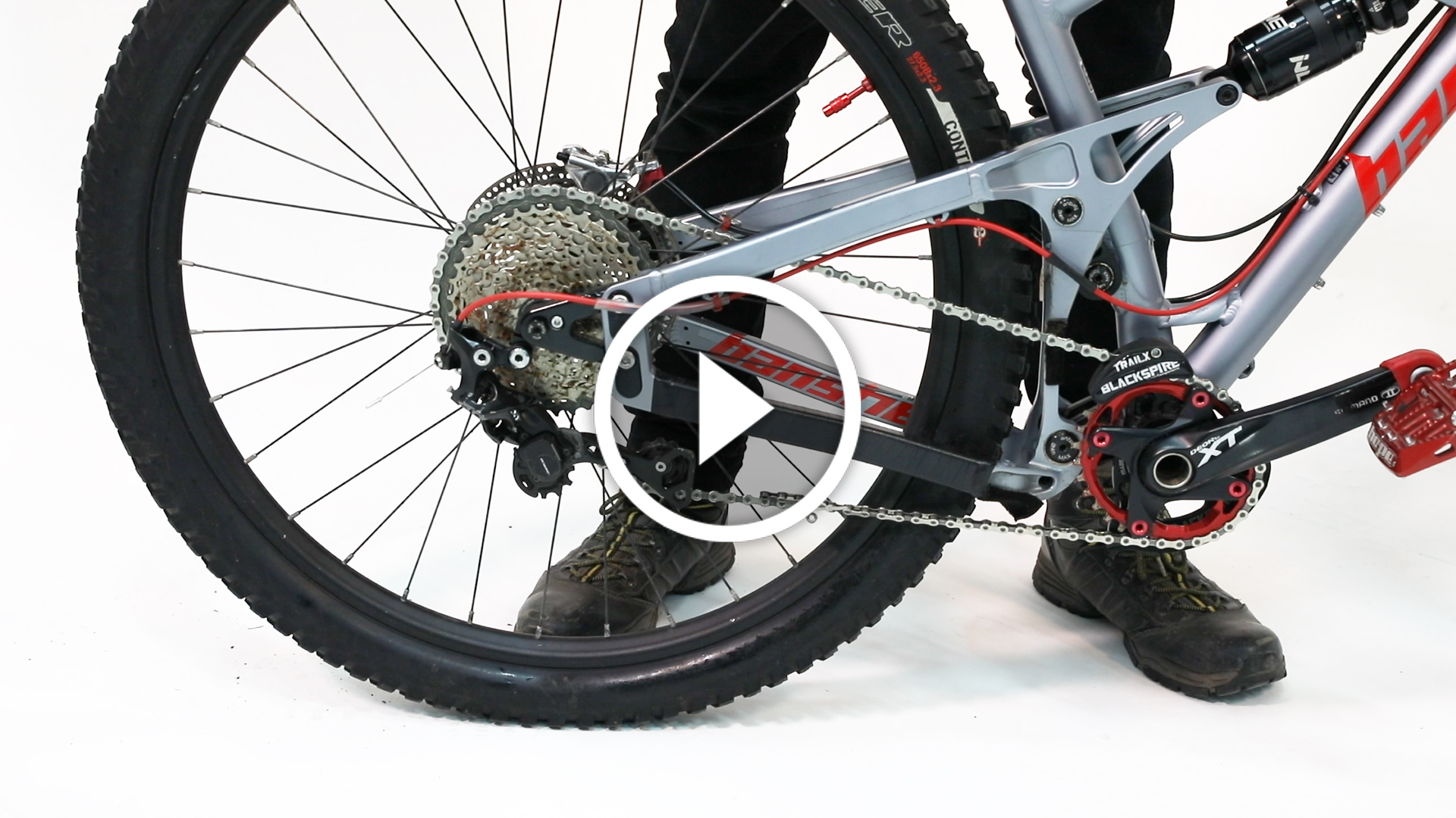 Watch: How to Install a New Chain on a Full Suspension Mountain Bike