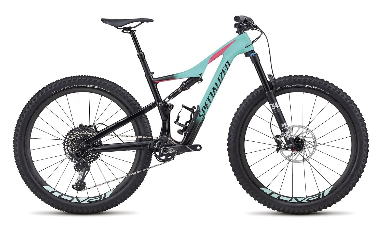 Specialized Rhyme Expert Carbon 27.5 6 Fattie Womens Mountain Bike