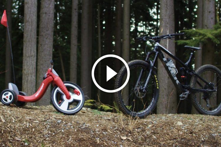 Watch: $149 Mountain Bike VS Mountain - The Walmart Enduro