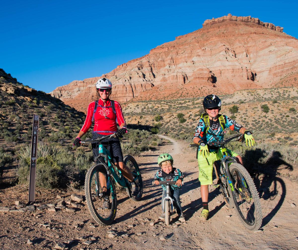 How to Take a Family Mountain Bike Trip