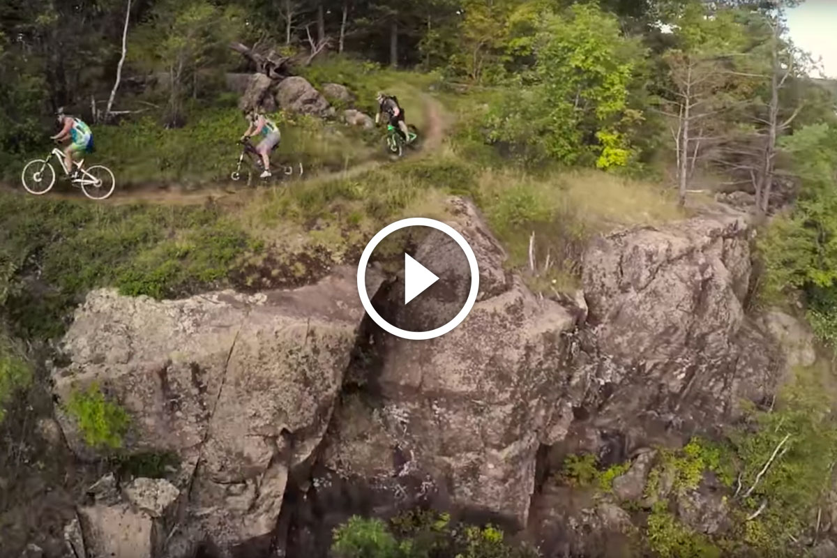 Watch Building Old School Singletrack Bike Trails In
