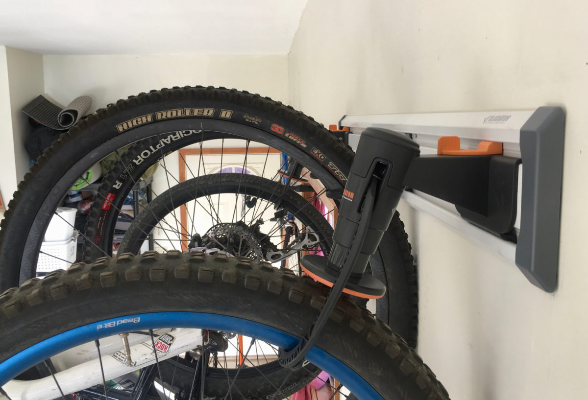 The Gladiator Bike Geartrack Pack Makes Bike Storage