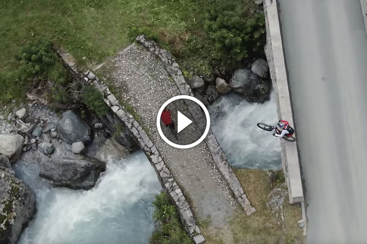 "Watch: Danny MacAskill & Claudio Caluori in ""Home of Trails"""