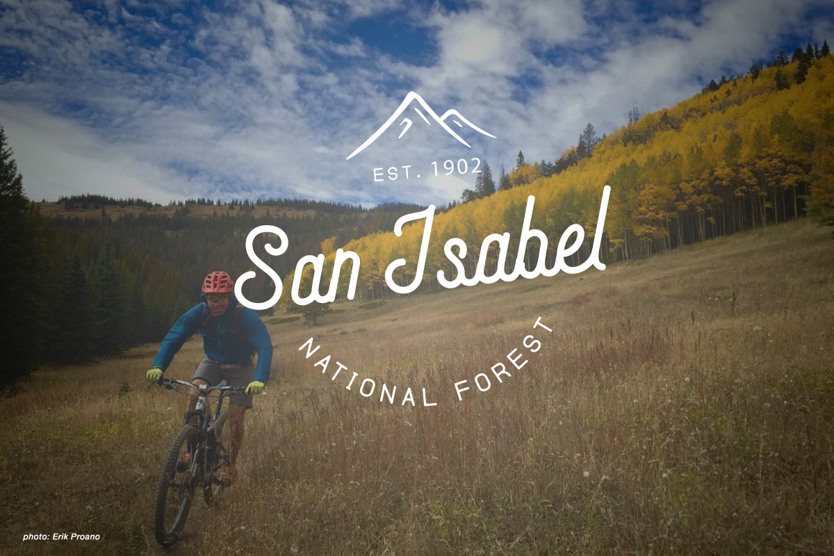 Mountain Bike Trails in San Isabel National Forest