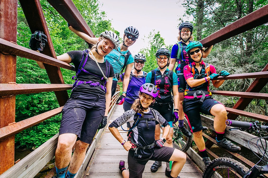 Roam Events Womens Mountain Bike Day