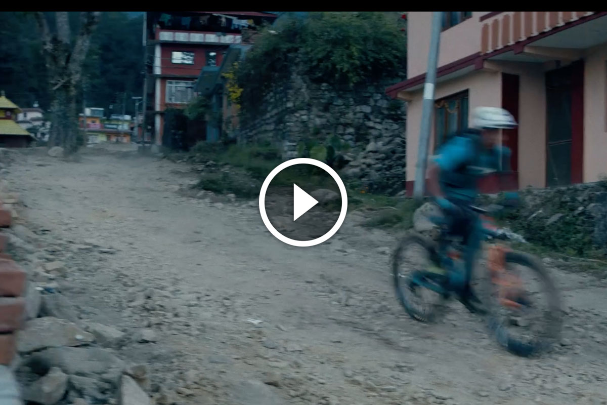 Watch: Determined Mountain Biker in Nepal Becomes 4-time National Champ