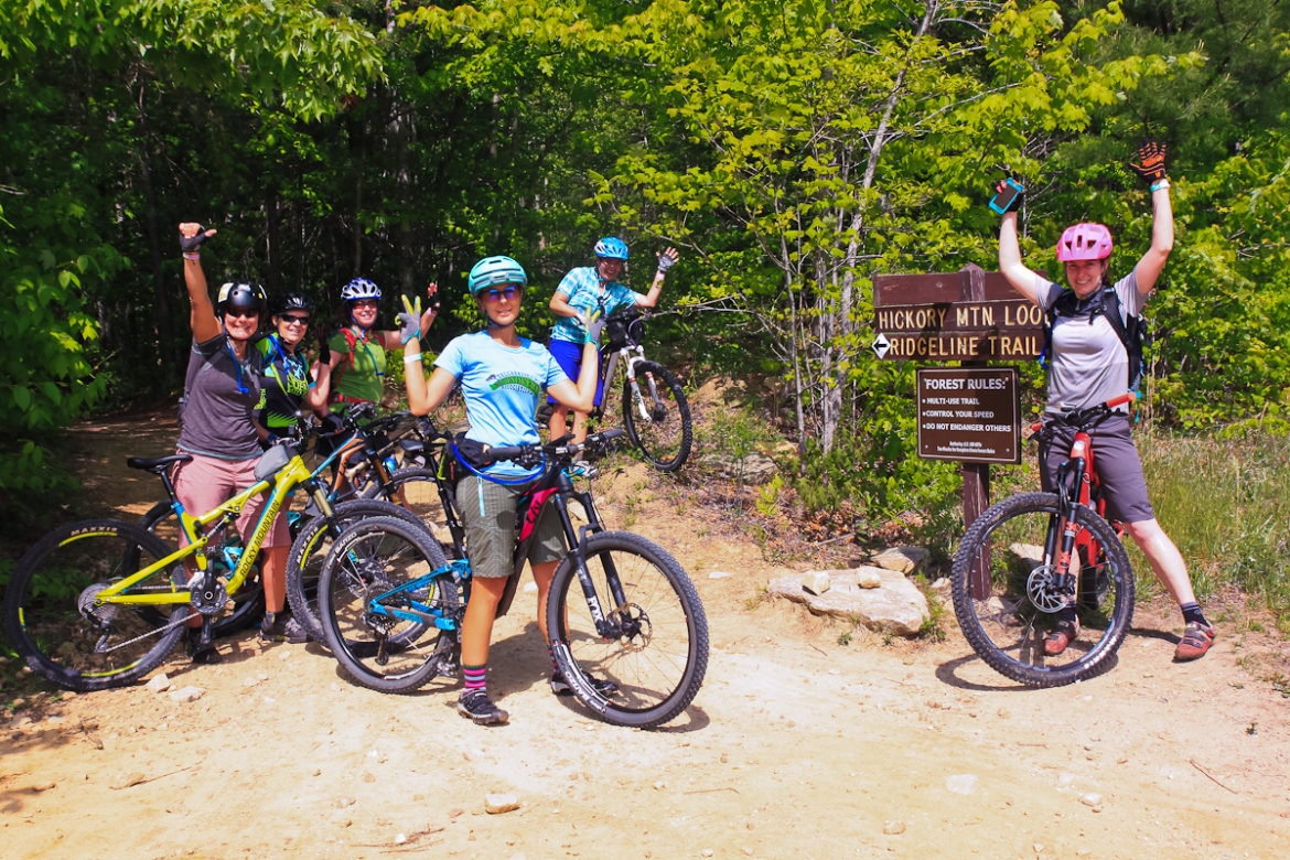 roam bike fest brevard ridgeline trail womens mountain bike festival