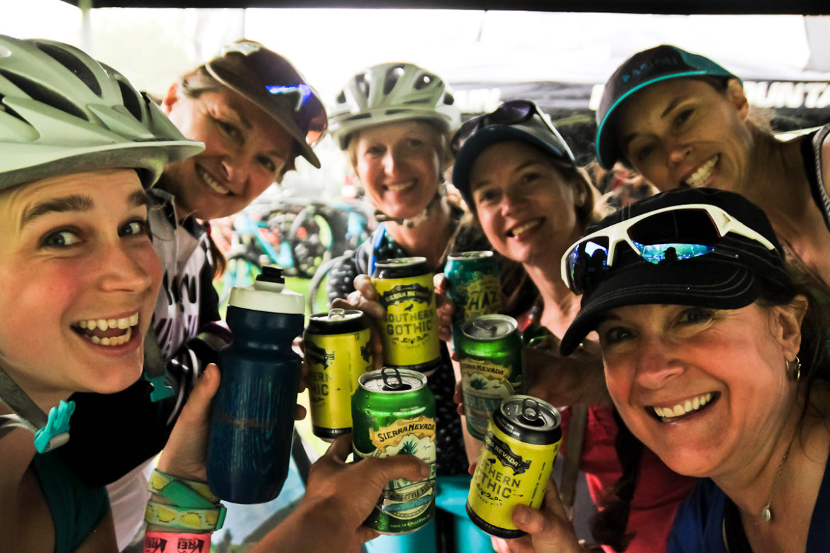 Roam Bike Fest womens mountain bike festival sierra nevada beer