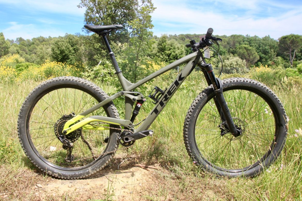09dc6551fb3 The all new Trek Full Stache was announced just before Sea Otter  California, leaving many of us curious to know what it feels like to ride a  130mm, ...