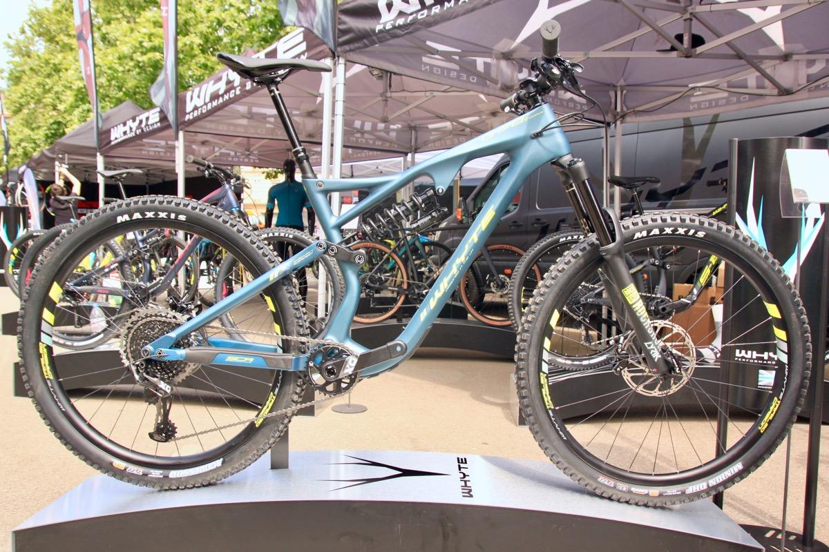 283ecaa6247 New S-120 Trail Bike From Whyte, Plus 29er G-170 Enduro Bike ...
