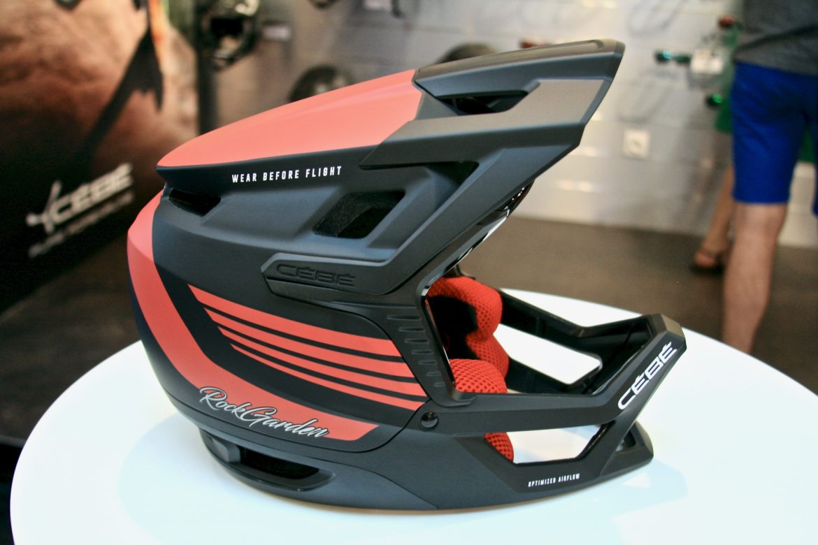 Cebe Debuts New Full Face And Half Shell Mtb Helmets At Eurobike