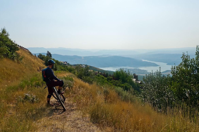 jordanelle reservoir mountain bike park city