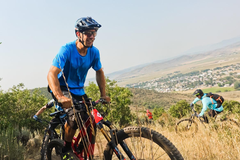 Eric Porter High star ranch mountain bike trails