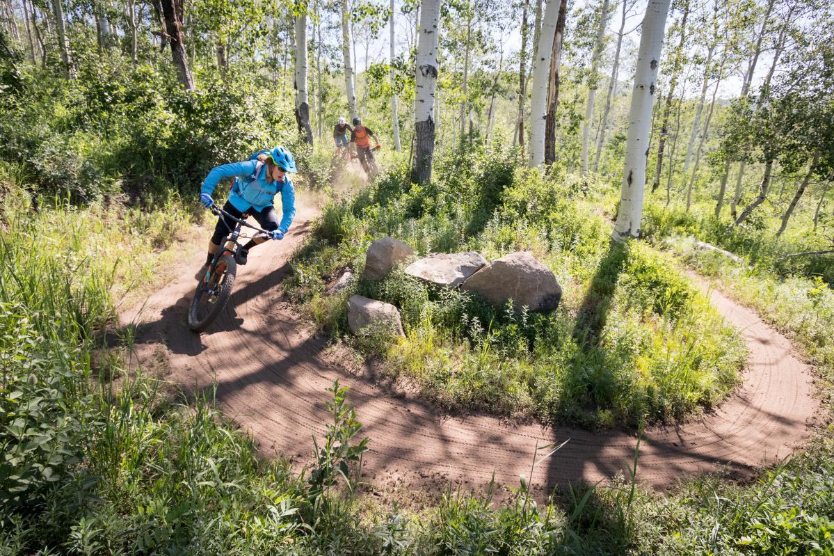 WOW Trail Park City Mountain Biking