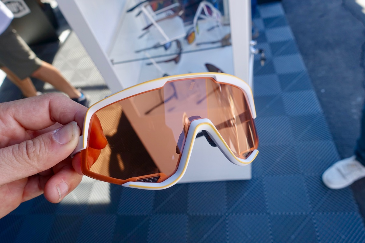 b90e125edc91b Two Pairs of Sunglasses That Look Like Goggles from Smith and 100 ...