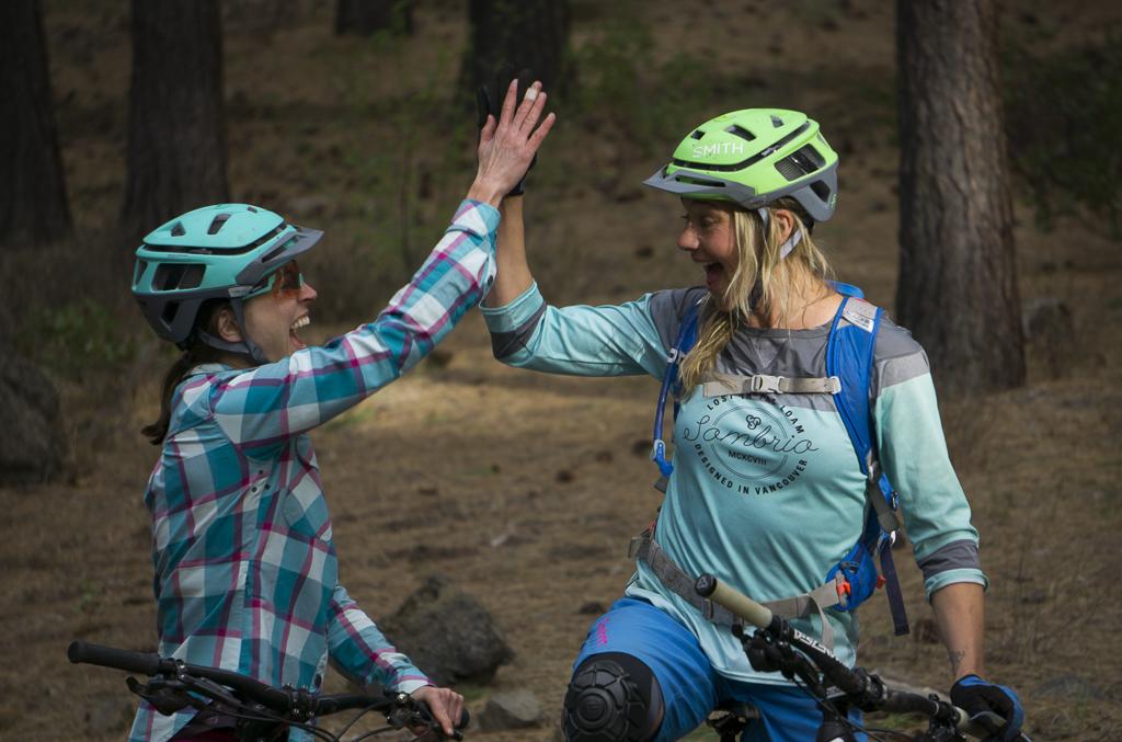 Ladies AllRide Founders Share Bike Skills And Life Skills Alike - Singletracks Mountain Bike News