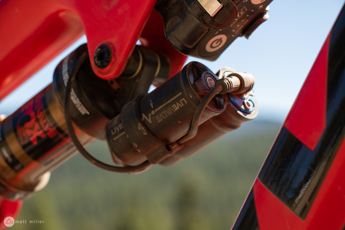 First Impressions: Riding The Fox Live Valve Automated MTB