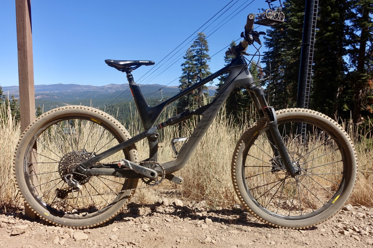 Canyon Spectral CF Trail Bike Test Ride Review - Singletracks