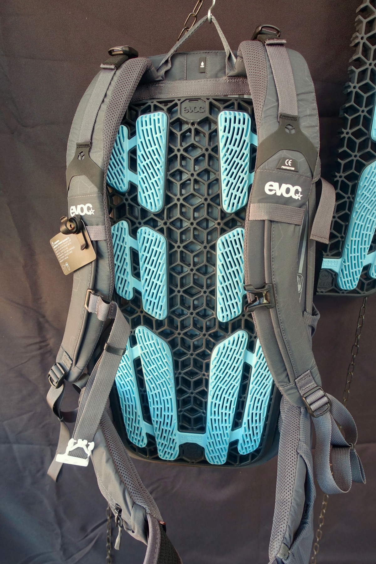 New Evoc Neo Hydration Pack Includes Back Protection, Free Crash Replacement