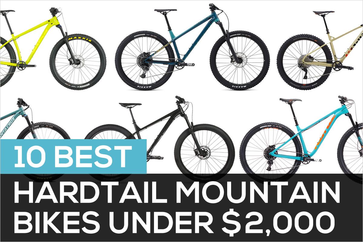 10 Best Hardtail Mountain Bikes Under 2000