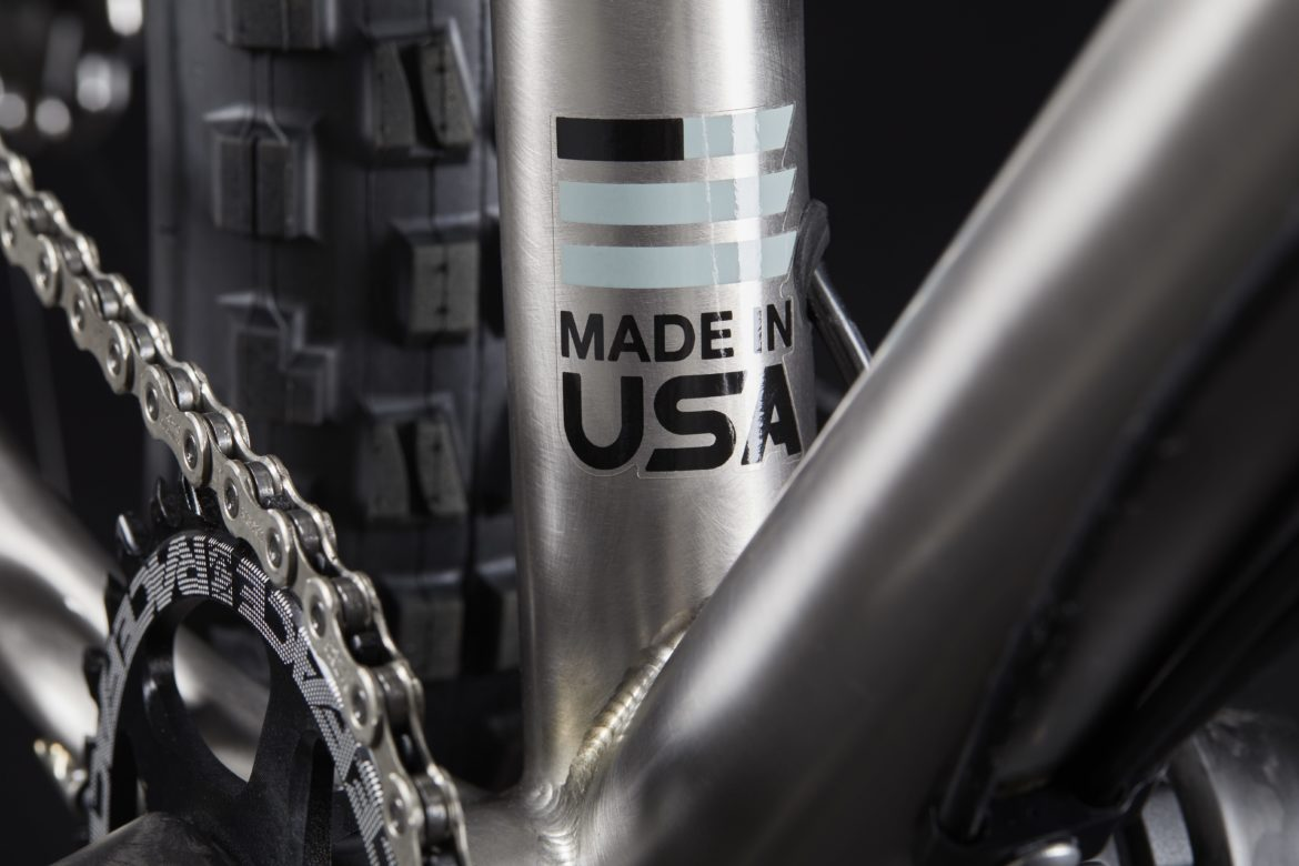 Sage Cycles' New Hardcore Hardtail is Handmade from Titanium