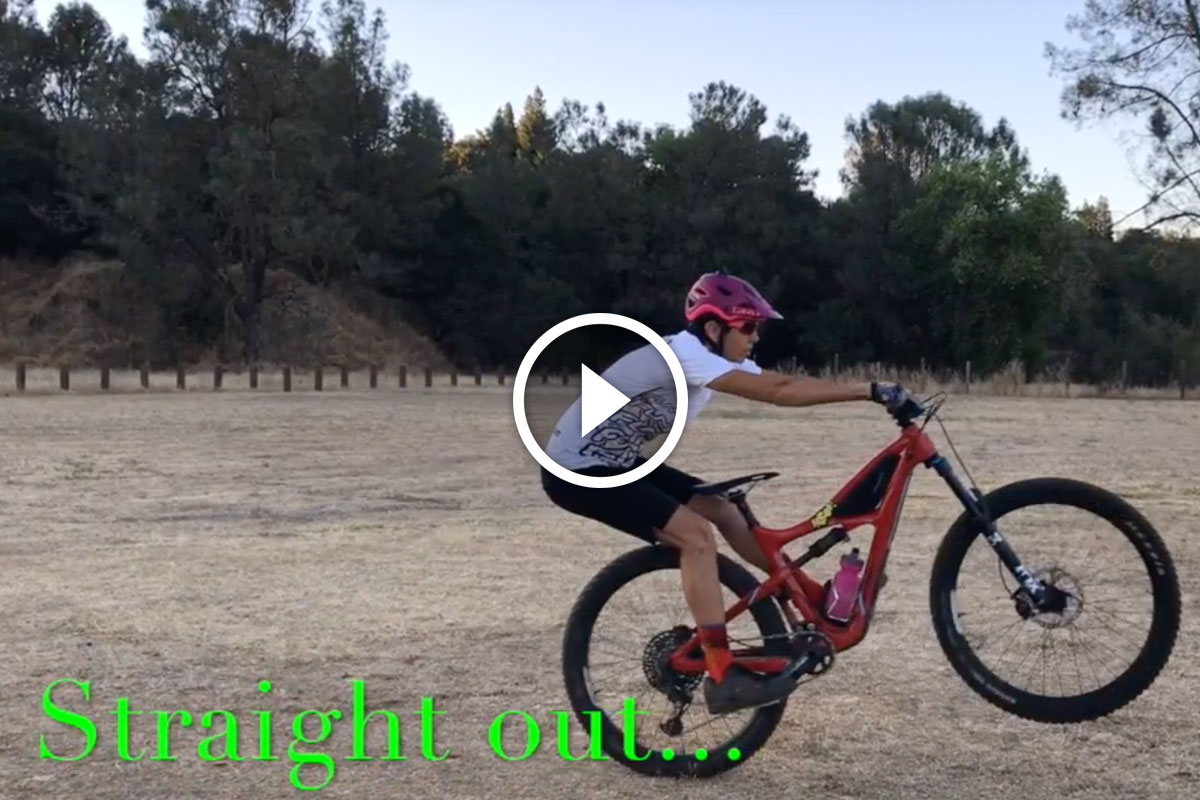 Watch: Learning to Manual a Mountain Bike in 2 Easy Steps