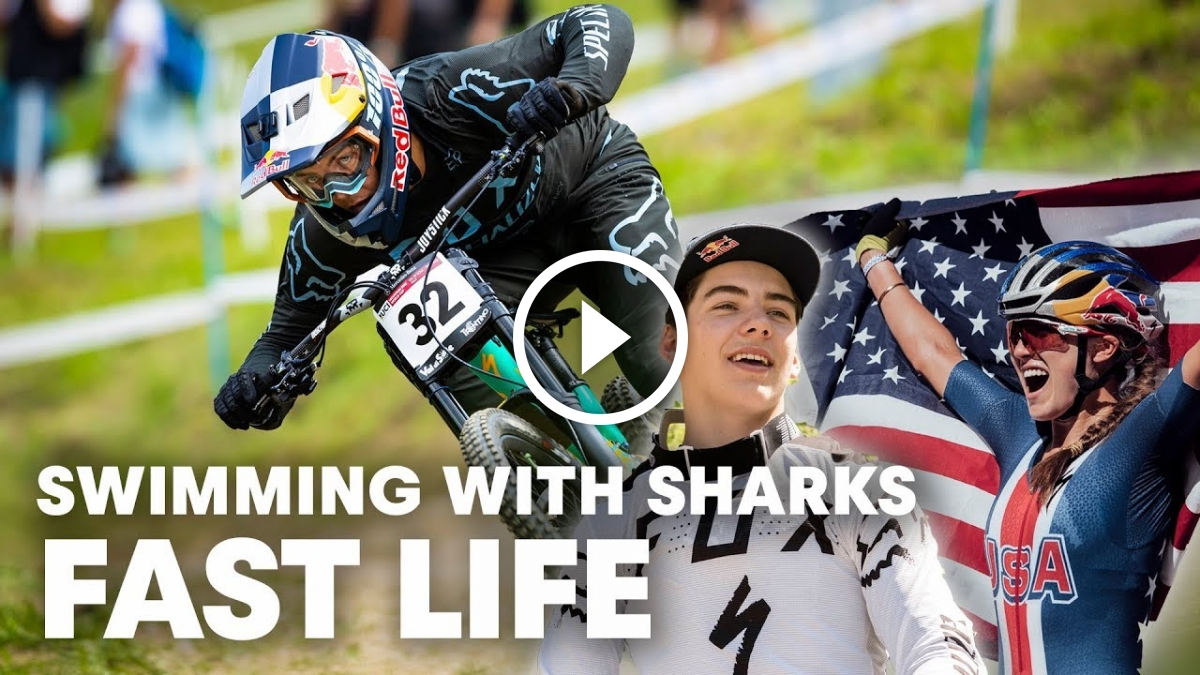 Watch: Watch How Rookies Kate Courtney & Finn Iles Tackle the World Cup