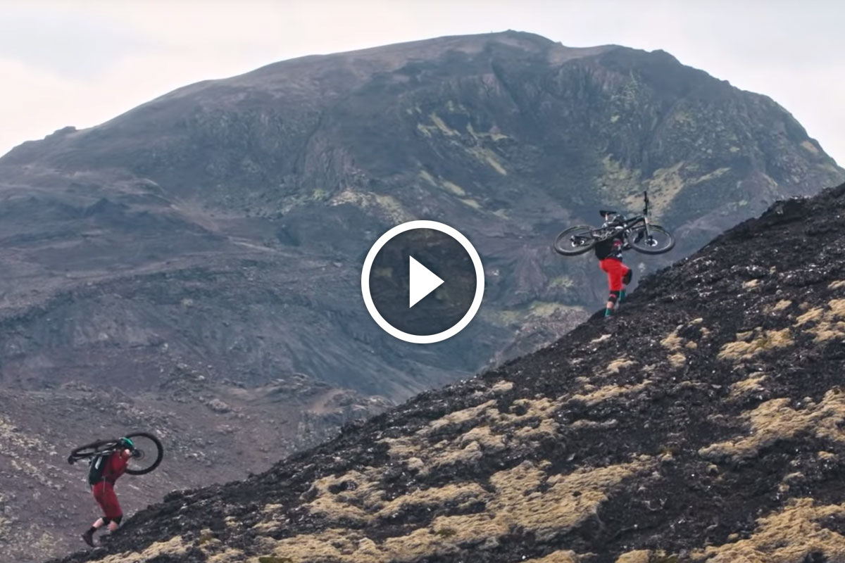 Watch: On Her Terms // Mountain Biking Iceland